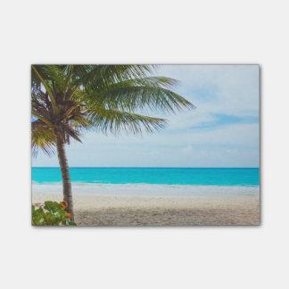 熱帯楽園のビーチ ポストイット