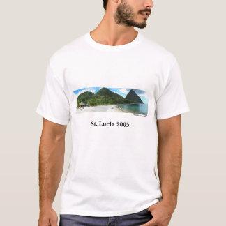 熱帯楽園セントルシア Tシャツ