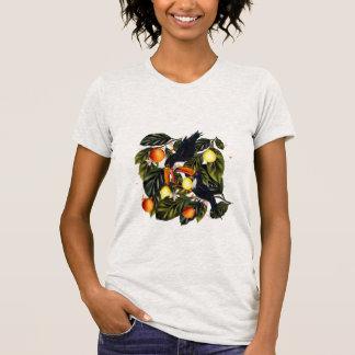 熱帯楽園。 Toucansおよび柑橘類 Tシャツ