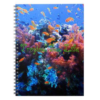 熱帯水中生態系 ノートブック