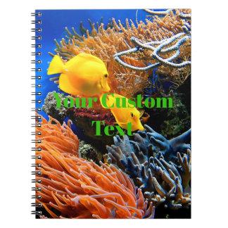 熱帯海底珊瑚 ノートブック
