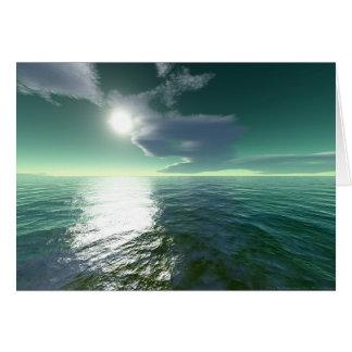 熱帯海(カード) グリーティングカード