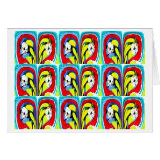 熱帯熱 グリーティングカード