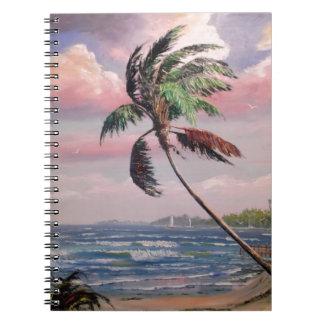 熱帯私用ビーチ ノートブック