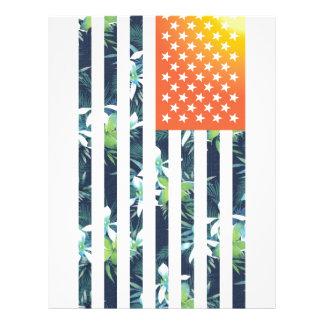 熱帯米国旗 チラシ