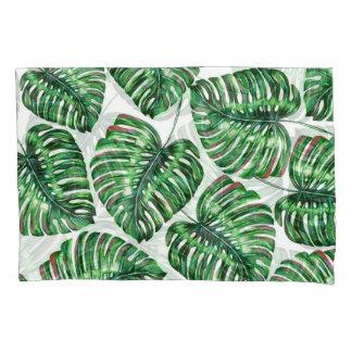 熱帯緑の草木 枕カバー
