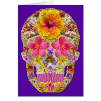 熱帯花のスカル4 - カード