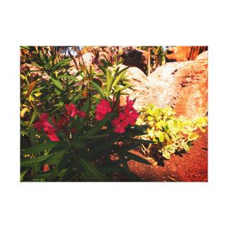 熱帯花 キャンバスプリント