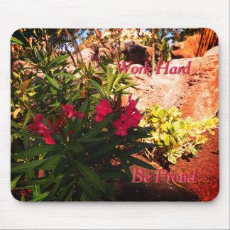 熱帯花 マウスパッド