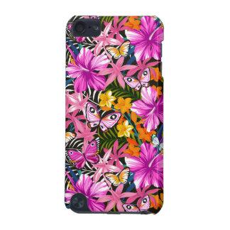 熱帯葉および花 iPod TOUCH 5G ケース