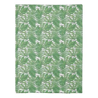 熱帯葉のジグザグ形|の羽毛布団カバー 掛け布団カバー