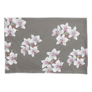 熱帯蘭によっては花の島の枕カバーが開花します 枕カバー
