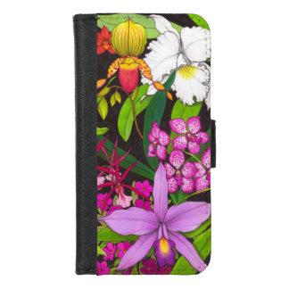 熱帯蘭によってはiPhoneのウォレットケースが開花します iPhone 8/7 ウォレットケース