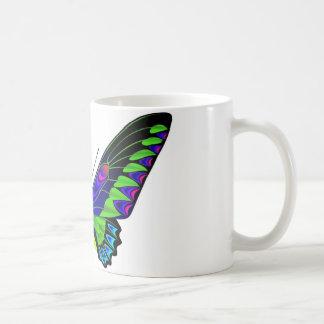 熱帯蝶 コーヒーマグカップ