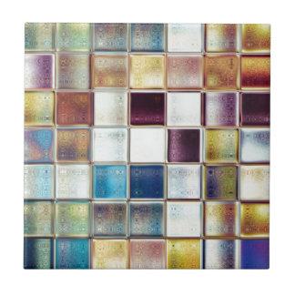 熱帯記憶モザイク・タイルの芸術 正方形タイル小