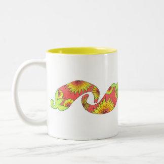 熱帯赤オレンジコショウ ツートーンマグカップ