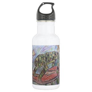 熱帯雨林のカメレオン ウォーターボトル