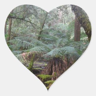 熱帯雨林MT分野の国立公園タスマニア ハートシール