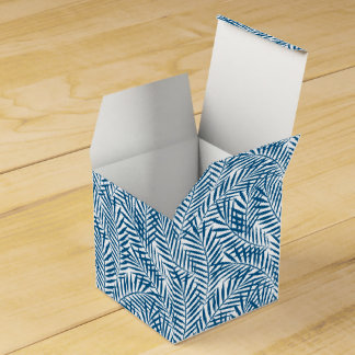 熱帯青いシュロの葉 フェイバーボックス