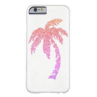 熱帯魅力的なピンクのヤシの木のiPhone 6/6sの場合 Barely There iPhone 6 ケース