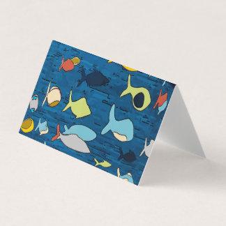 熱帯魚との抽象芸術 カード