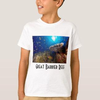 熱帯魚のグレート・バリア・リーフの珊瑚海のギフト Tシャツ