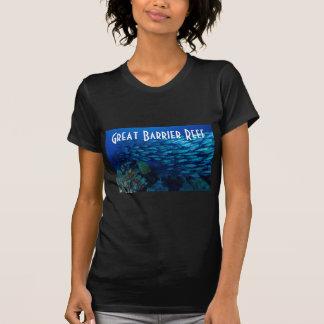 熱帯魚のグレート・バリア・リーフの珊瑚海 Tシャツ