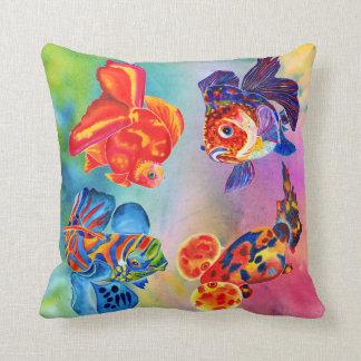 熱帯魚は装飾的な枕を設計します クッション
