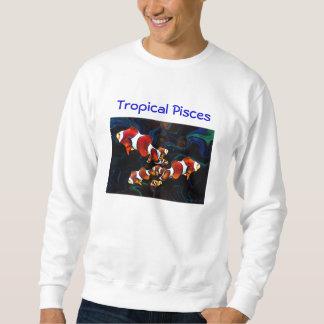 熱帯魚類 スウェットシャツ