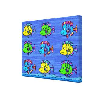 熱帯魚1つのキャンバスプリントのプリント キャンバスプリント