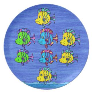 熱帯魚1 プレート