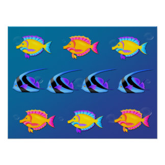 熱帯魚2のポスターかプリント プリント