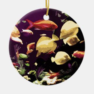 熱帯魚 セラミックオーナメント