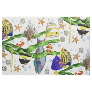 熱帯魚 ファブリック