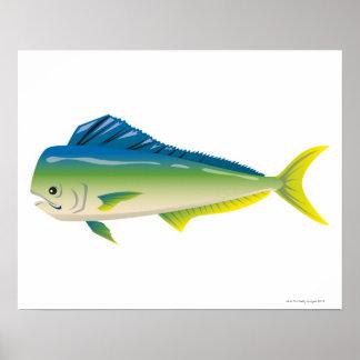 熱帯魚 プリント