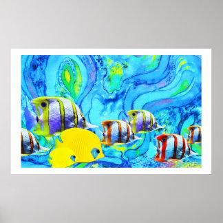 熱帯魚 ポスター