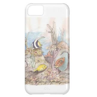 熱帯魚-モーリーによる元の水彩画 iPhone5Cケース