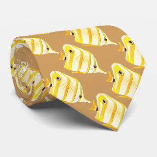 熱帯黄色くストライプのな魚 オリジナルタイ