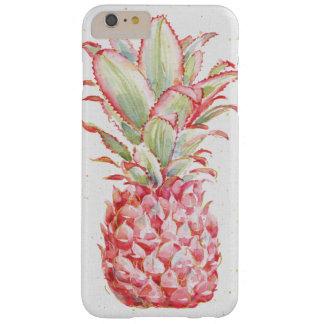 熱帯|ピンクのパイナップル BARELY THERE iPhone 6 PLUS ケース