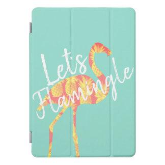 熱帯Flamingleのフラミンゴ及びパイナップルは iPad Proカバー