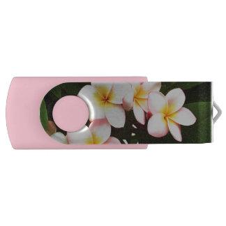 熱帯Frangipaniの花 USBフラッシュドライブ