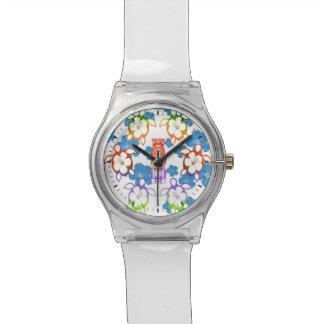 熱帯HonuおよびTikis 腕時計