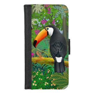 熱帯Toco ToucanのiPhoneのウォレットケース iPhone 8/7 ウォレットケース