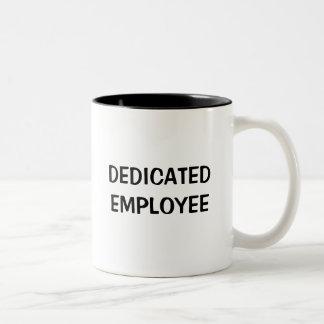熱心な従業員 ツートーンマグカップ