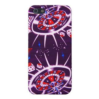 熱情的な紫色のラスベガス iPhone 5 ケース