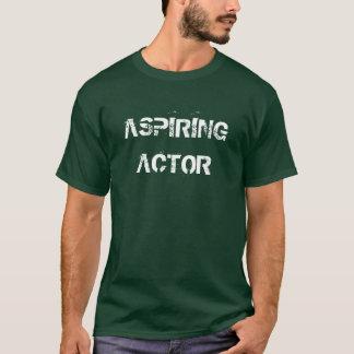 熱望俳優 Tシャツ