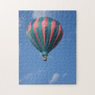 熱気の気球のパズル ジグソーパズル