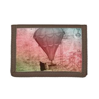 熱気の気球のファンタジーの芸術のSteampunkの財布