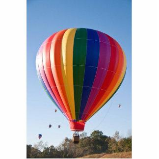 熱気の気球のフォトスカルプチャーのオーナメント 写真彫刻オーナメント