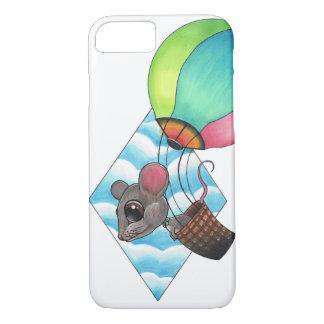 熱気の気球のマウス iPhone 8/7ケース